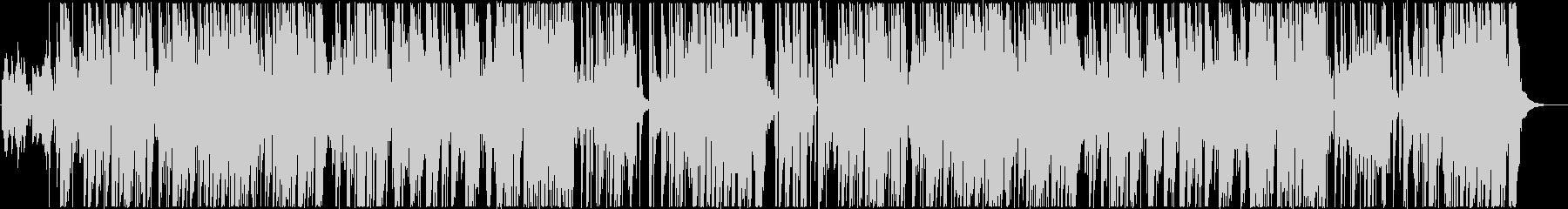 アグレッシヴなレゲエヒップホップの未再生の波形