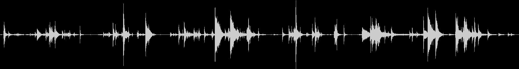 鎖・チェーンの効果音 05の未再生の波形