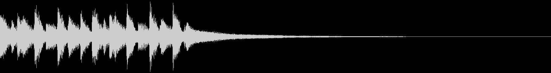キャッチーEDM・ADMジングル7の未再生の波形