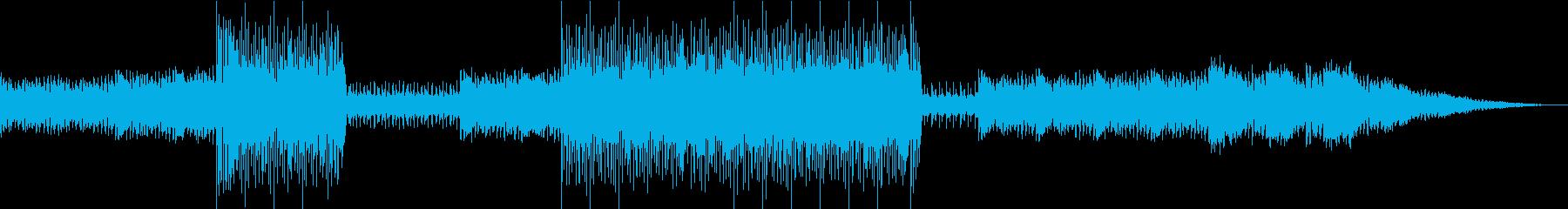 70s風ロック・軽快・希望・出発の再生済みの波形