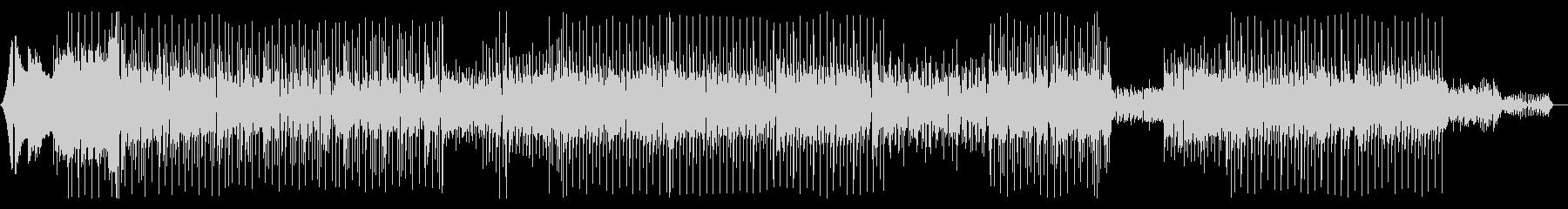 エレピとピアノ、シンセを使ったハウスの未再生の波形