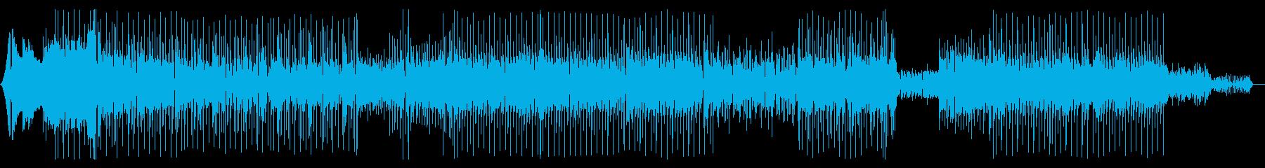 エレピとピアノ、シンセを使ったハウスの再生済みの波形