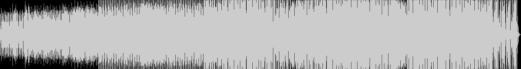 エレクトロニック 技術的な お洒落...の未再生の波形