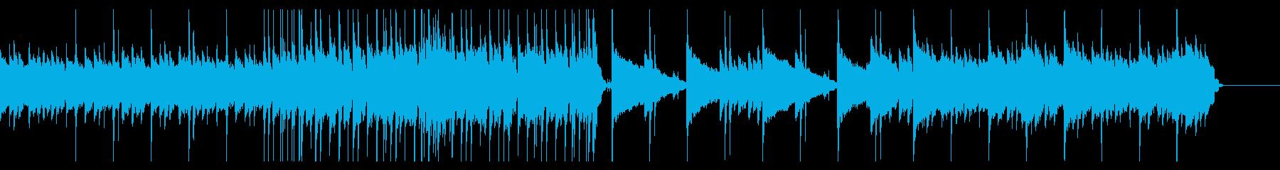 寂しげなアルペジオが印象的なバンド曲の再生済みの波形