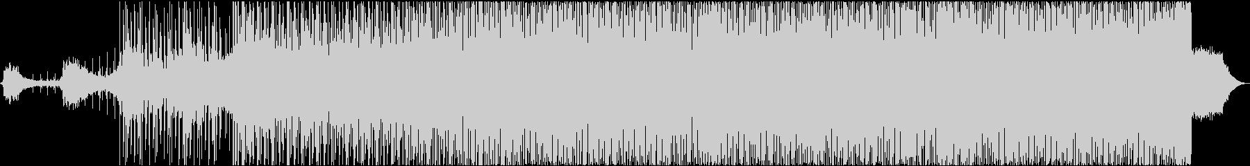 エッジの効いた神秘的電子サウンドの未再生の波形