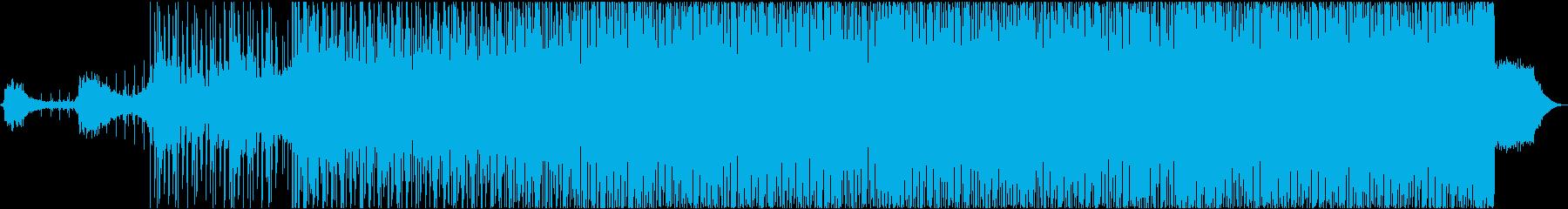 エッジの効いた神秘的電子サウンドの再生済みの波形