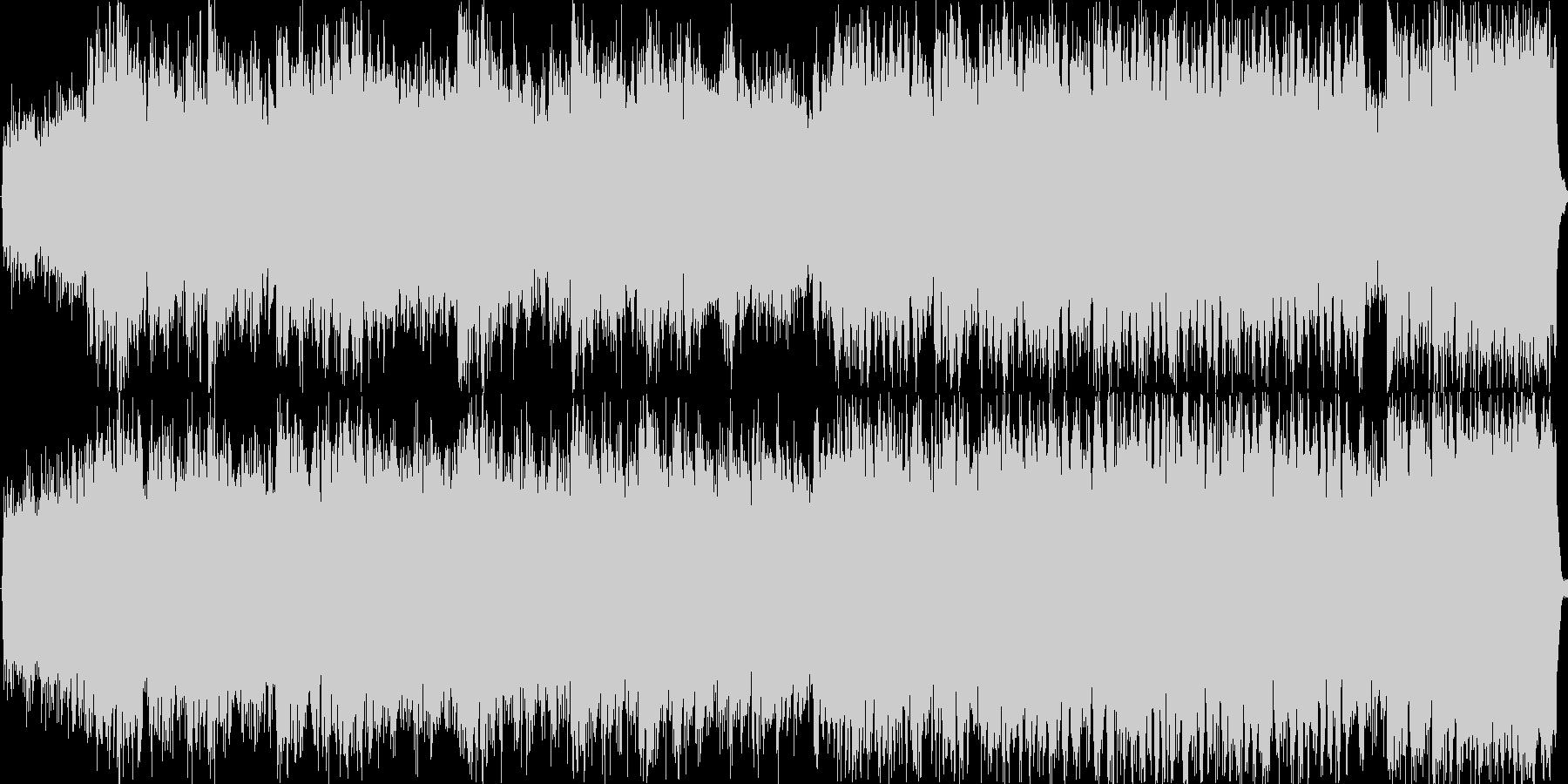 ミステリアスで神秘的な短調の曲です。の未再生の波形