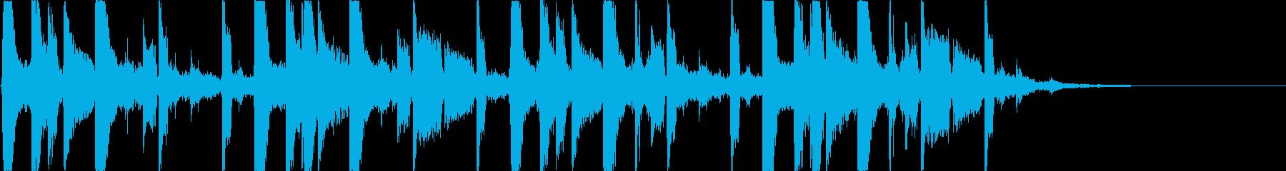 都会的でおしゃれなEDM5の再生済みの波形