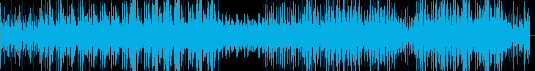 ジャジーでクール洋楽BGMアシッドジャズの再生済みの波形