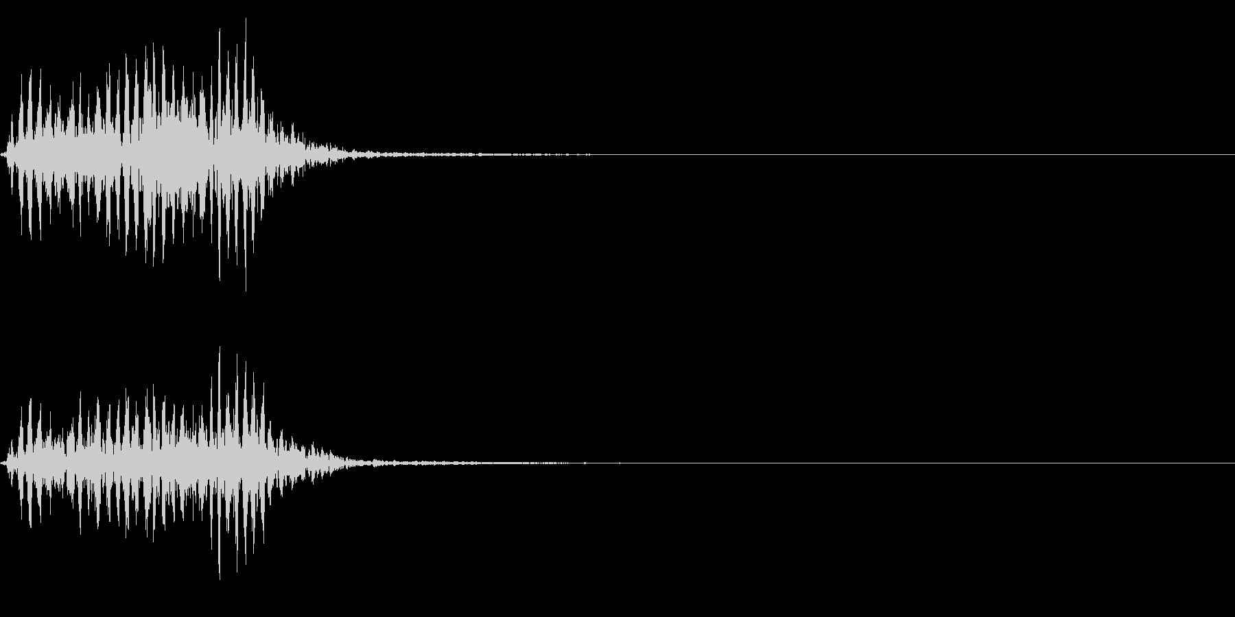 【生録音】フラミンゴの鳴き声 43の未再生の波形