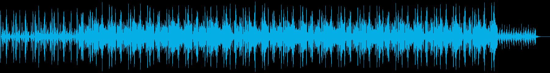 チルアウト ジャズ ローファイの再生済みの波形