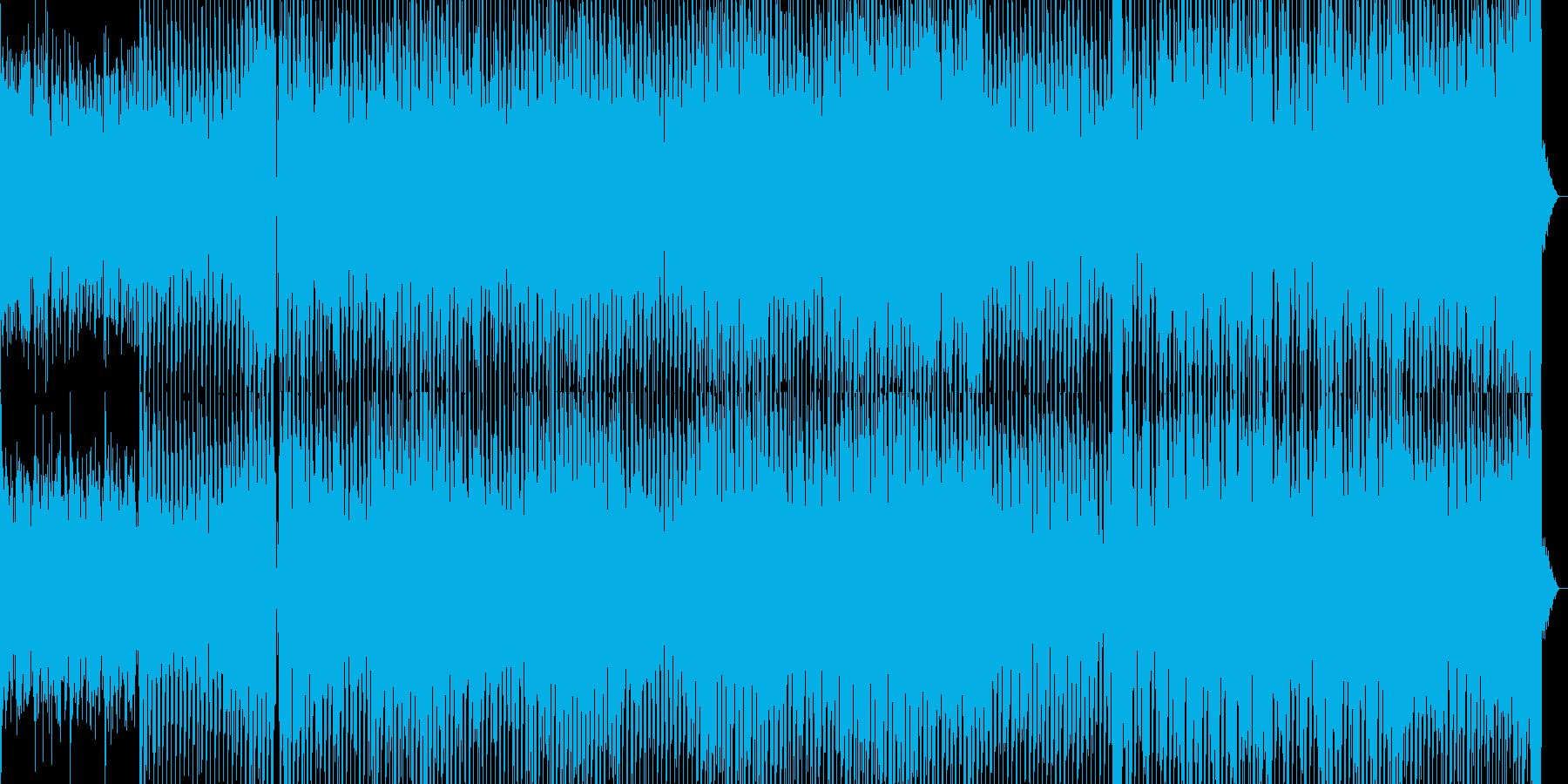 ミニマリズムがかっこいいテクノ曲の再生済みの波形
