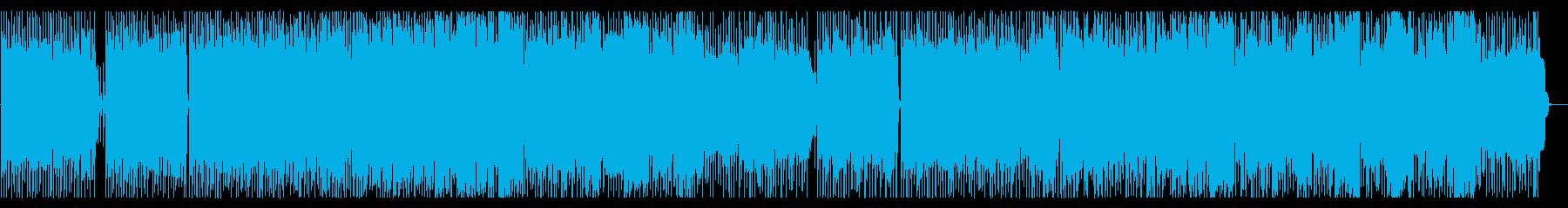 Transparent female vocal pop's reproduced waveform