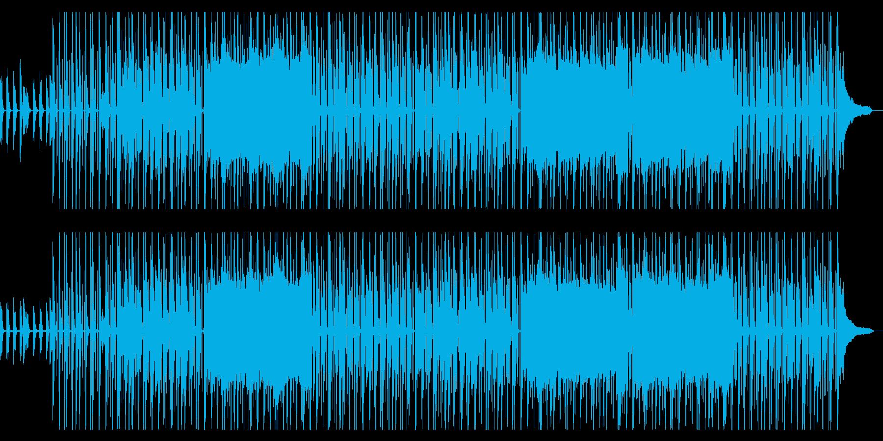 クールでおしゃれなヒップホップの再生済みの波形