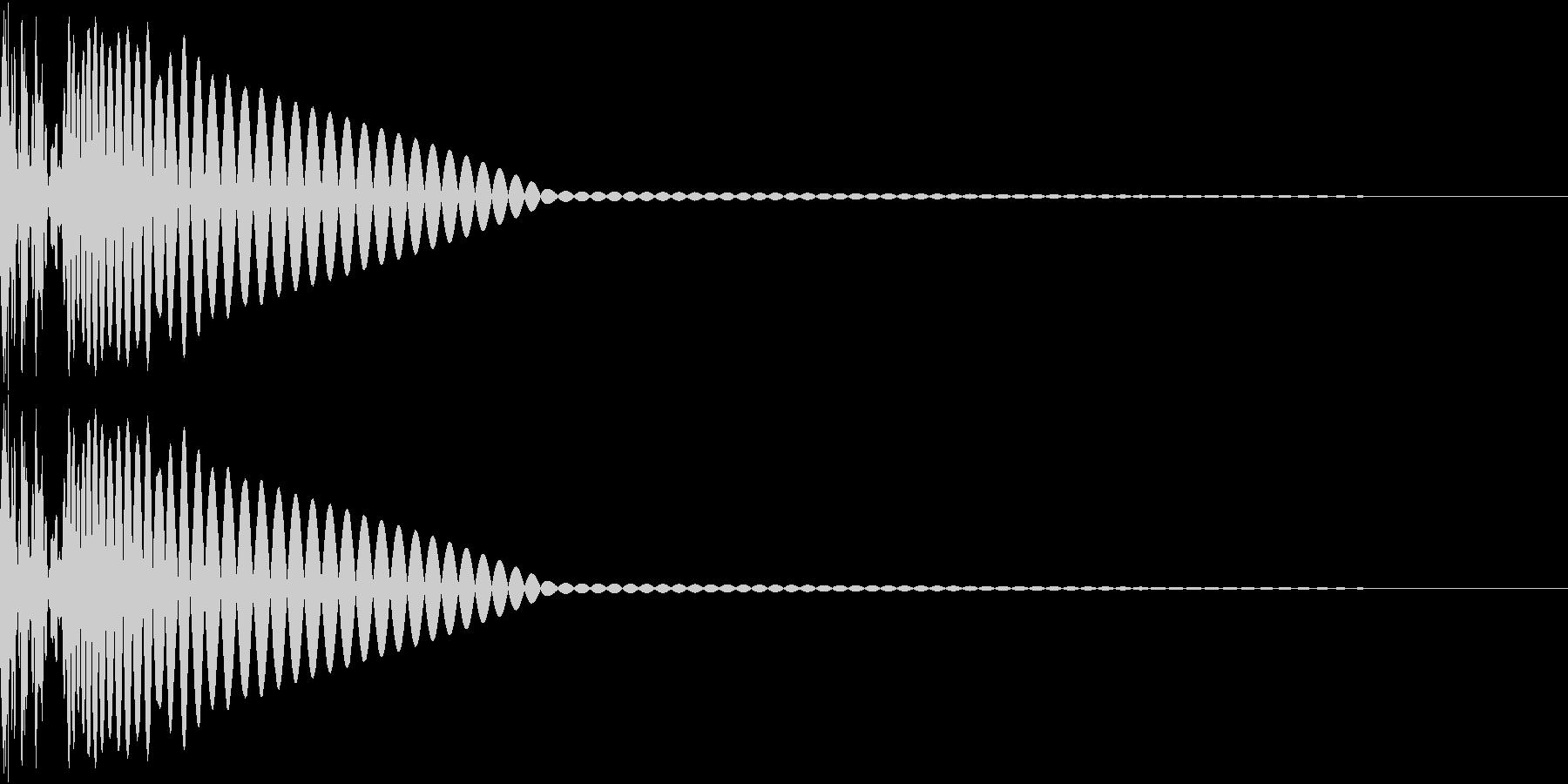 DTM Kick 70 オリジナル音源の未再生の波形