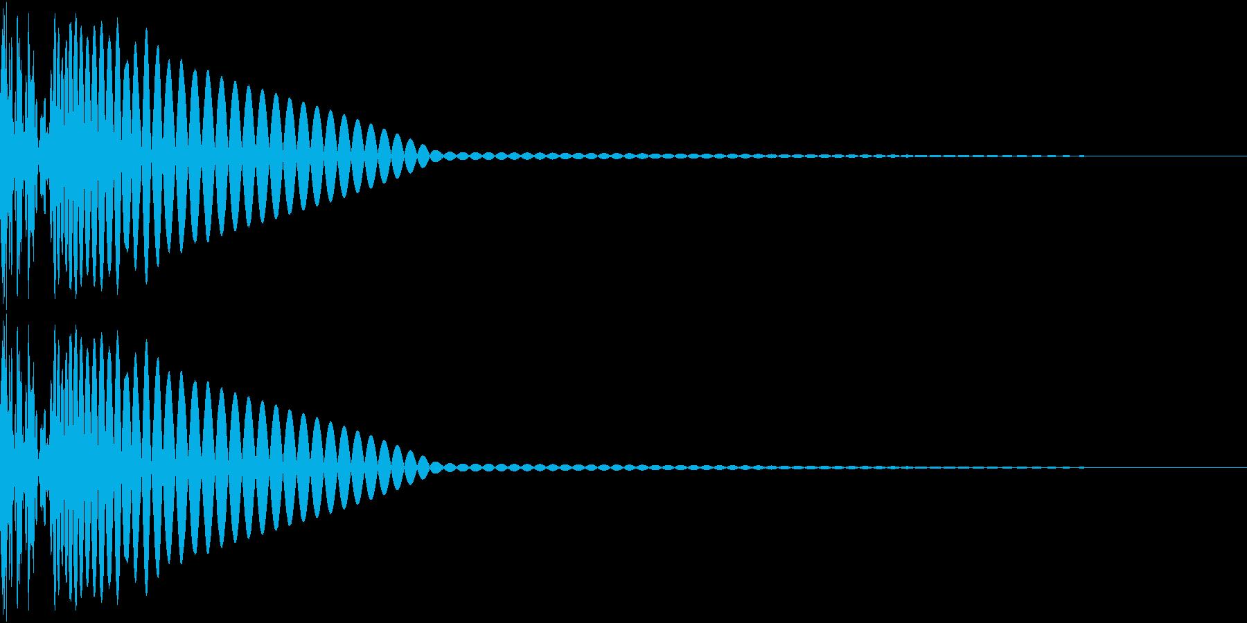 DTM Kick 70 オリジナル音源の再生済みの波形