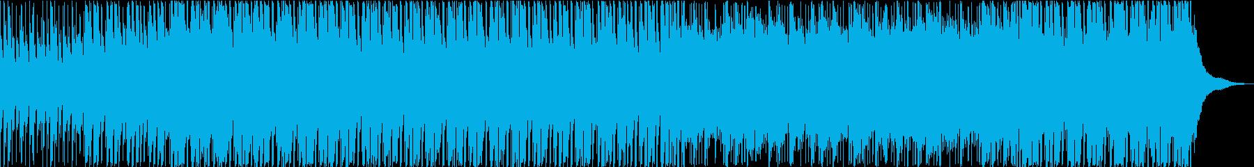 リラックスした雰囲気のテクノポップの再生済みの波形
