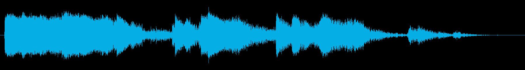 メタルバケットクラッシュ3の再生済みの波形