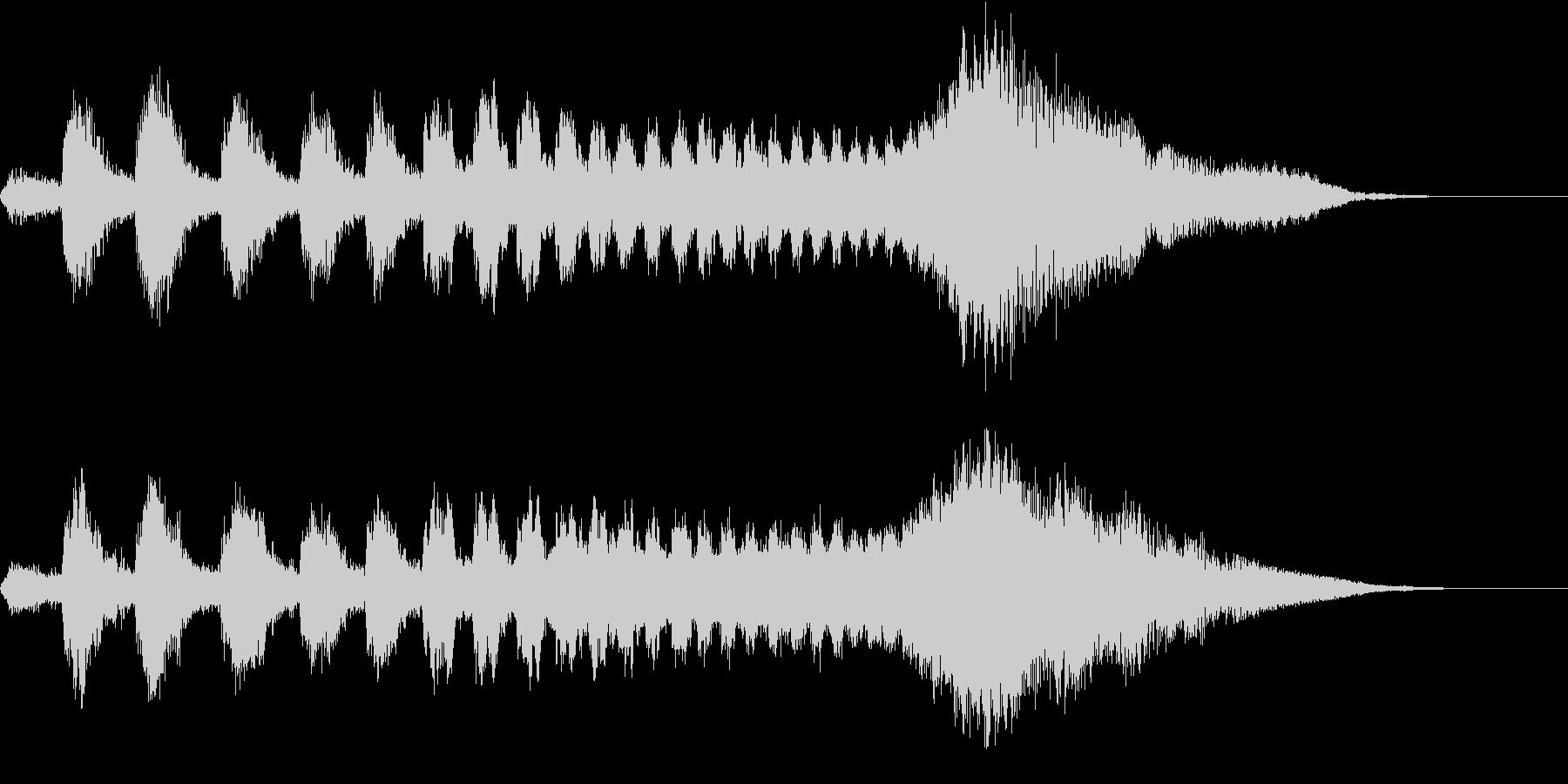 CINEMATIC RISER_07の未再生の波形
