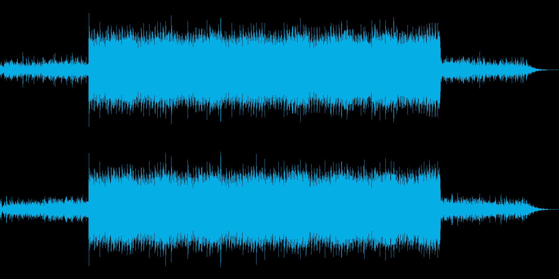 ドキュメンタリー風神秘的なインストの再生済みの波形