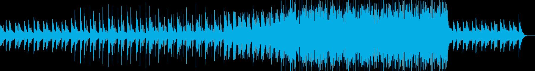 エンディング・爽やか・ウキウキ・EDMの再生済みの波形