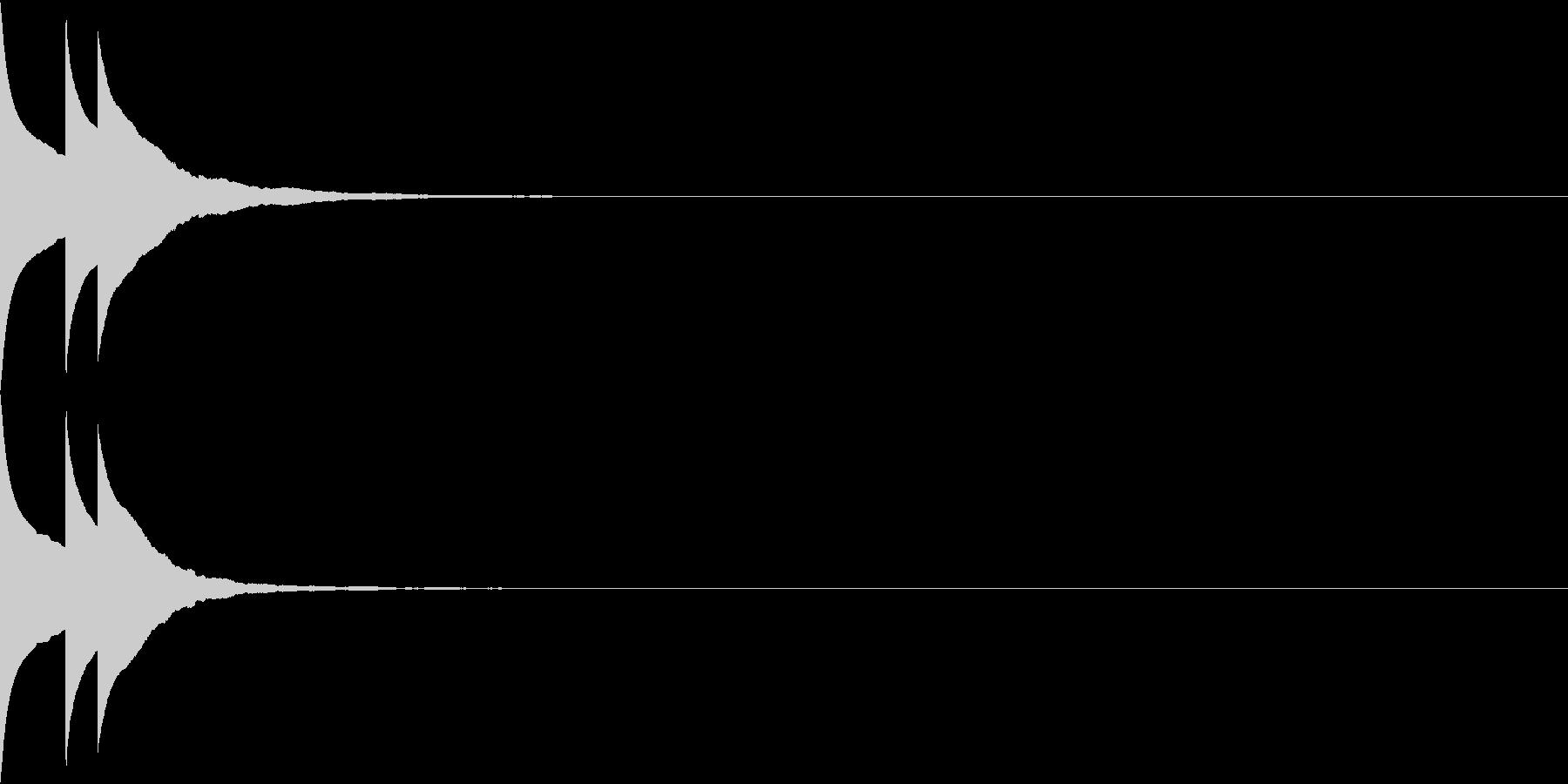 Bank 汎用性のある通知・認証音 7の未再生の波形