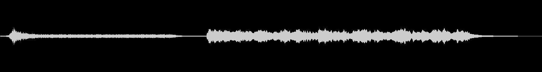 ドリームサウンド-脈動_テンション-電子の未再生の波形
