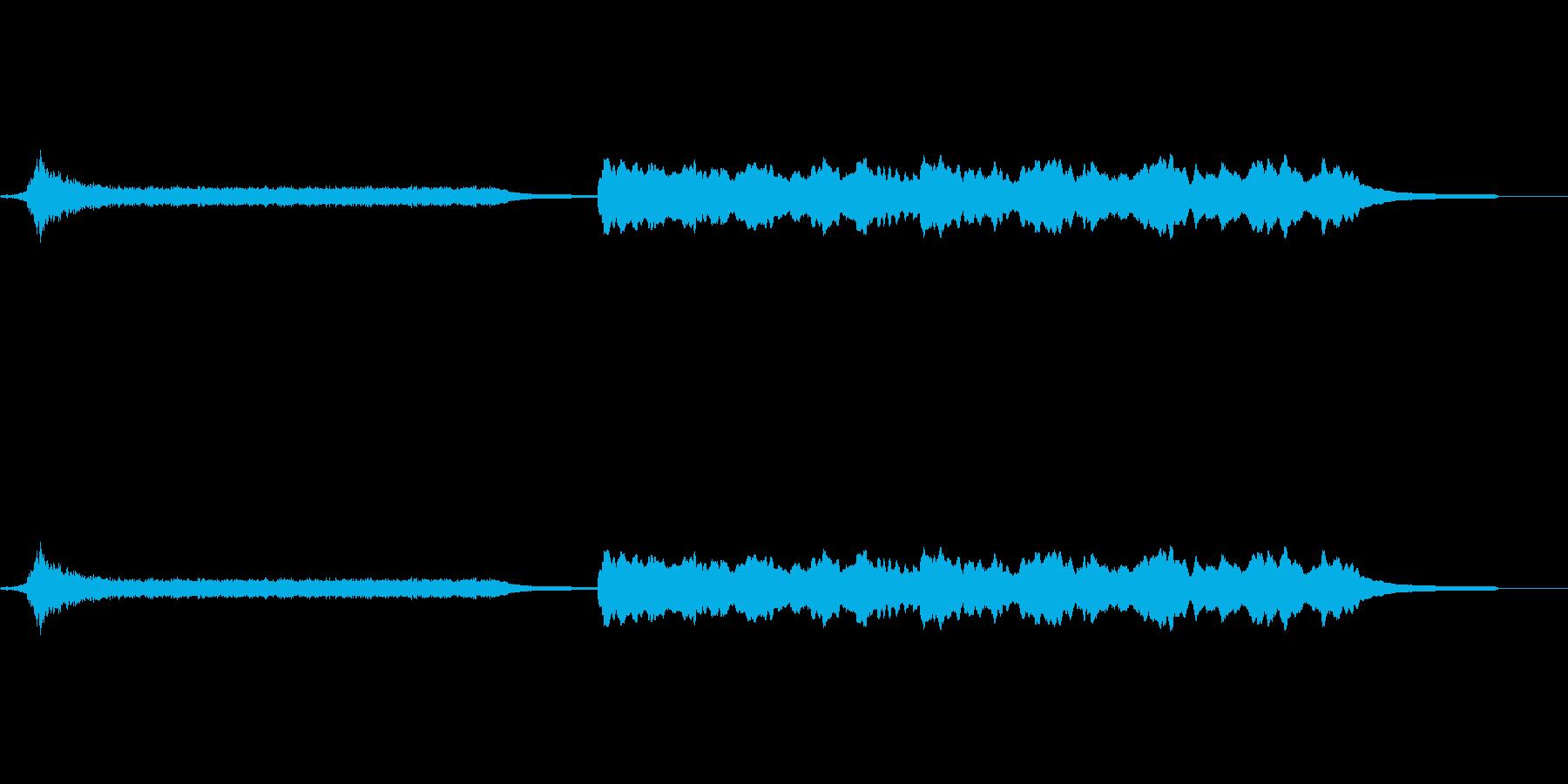 ドリームサウンド-脈動_テンション-電子の再生済みの波形
