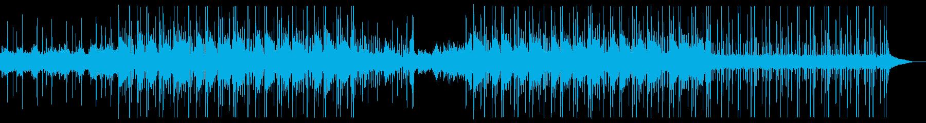 浮遊感のあるHipHop(Trap)の再生済みの波形