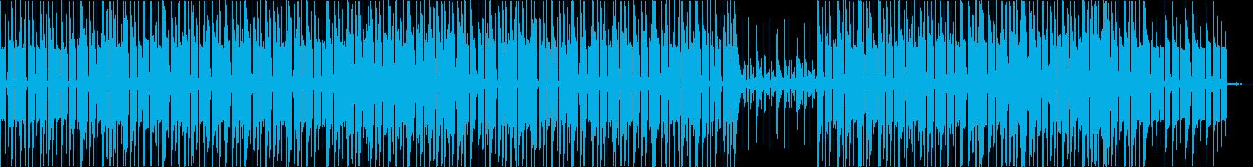 アダルトなムードのアシッドジャズの再生済みの波形