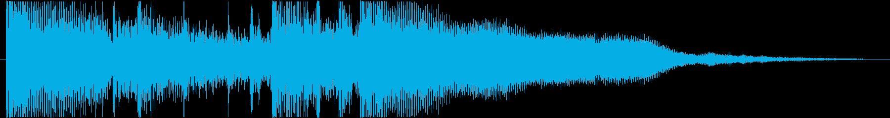 スムースジャズ、アコースティックポ...の再生済みの波形