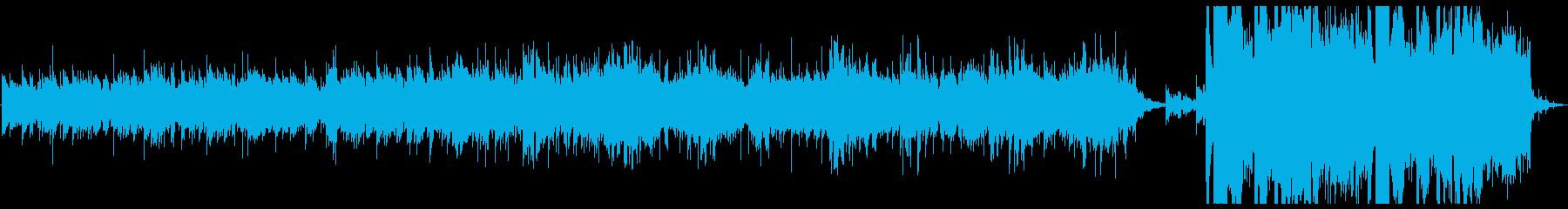 優しく温かみのあるアンビエント の再生済みの波形