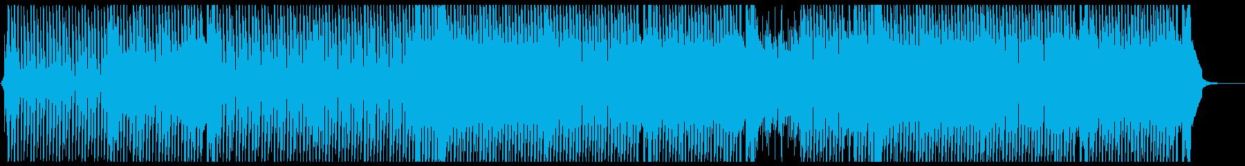 可愛らしいダンスポップ5 歌無しの再生済みの波形