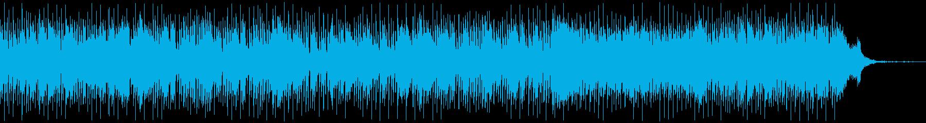 おしゃれでムーディーなジャズの再生済みの波形
