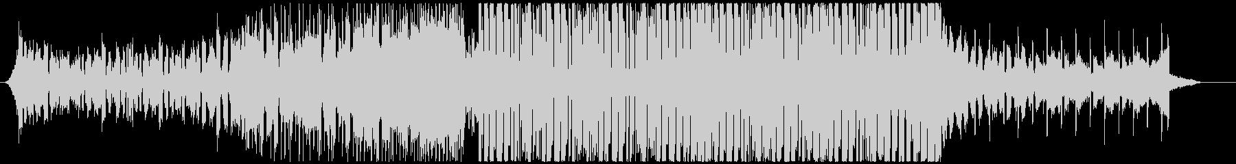 スタイリッシュな8Bitエレクトロハウスの未再生の波形