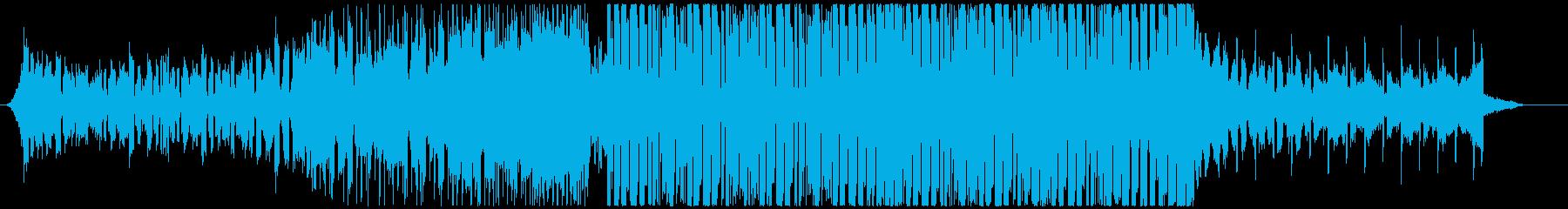 スタイリッシュな8Bitエレクトロハウスの再生済みの波形