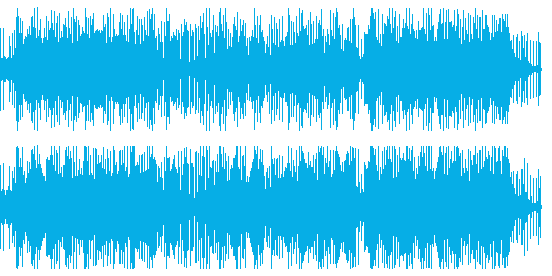 アコギ、シンセ、爽やかで軽快な曲の再生済みの波形