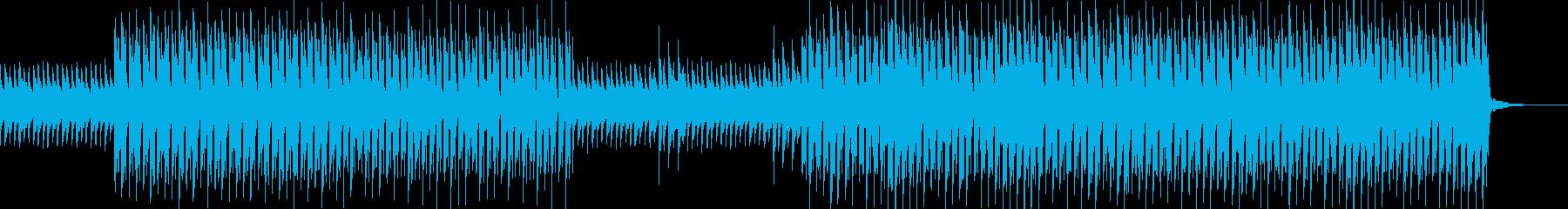 おしゃれ・クール・EDM・ハウス3の再生済みの波形