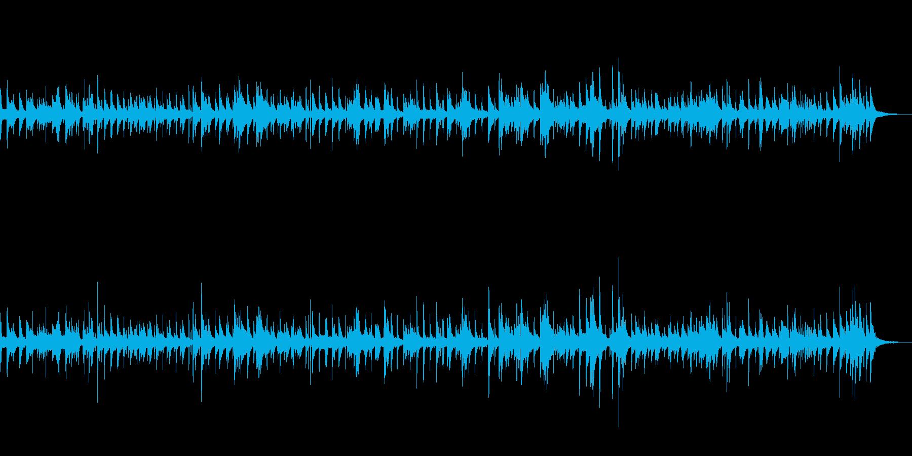 オシャレなスロージャズの再生済みの波形