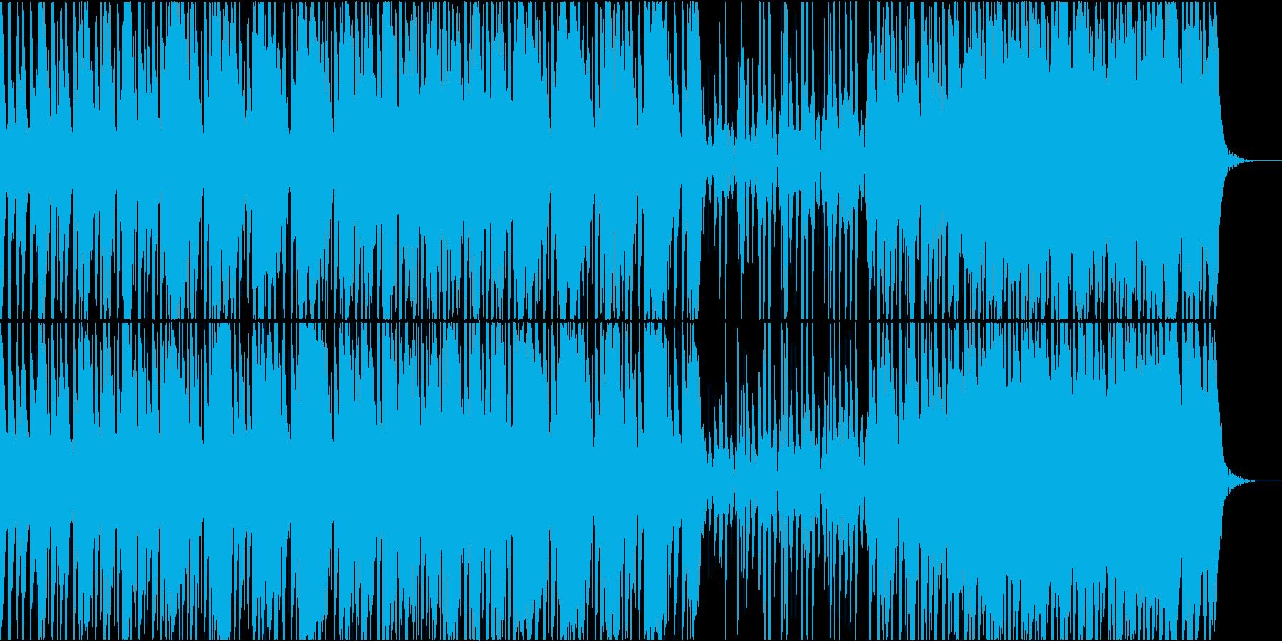 重め、暗め、Lo-Fiの再生済みの波形