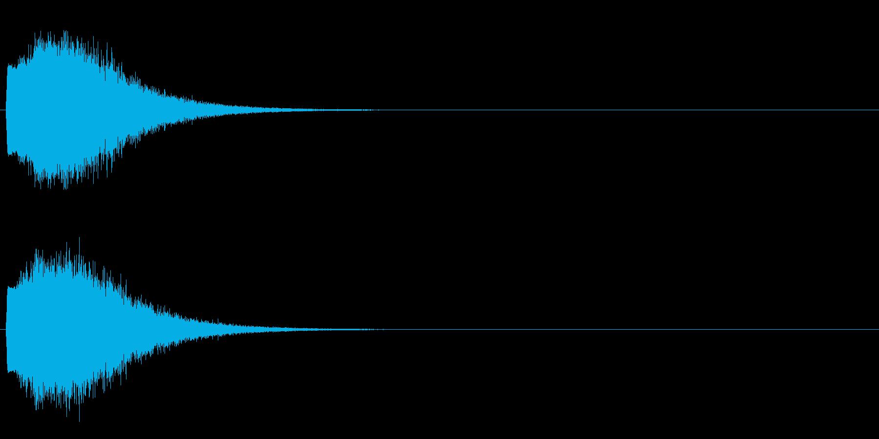 「キュイン!」輝く・レーザー発射2の再生済みの波形