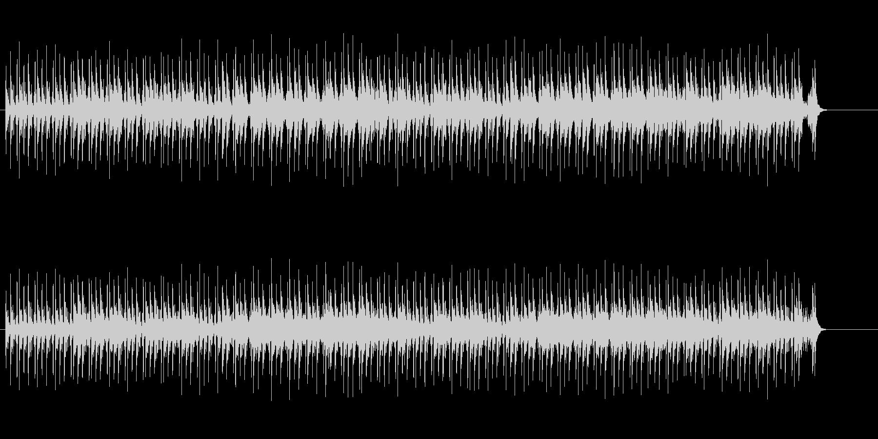情緒的なユーロ・ポップス風の曲の未再生の波形