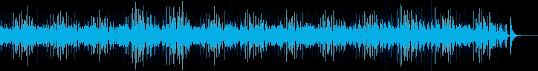和風・中華風なBGMの再生済みの波形