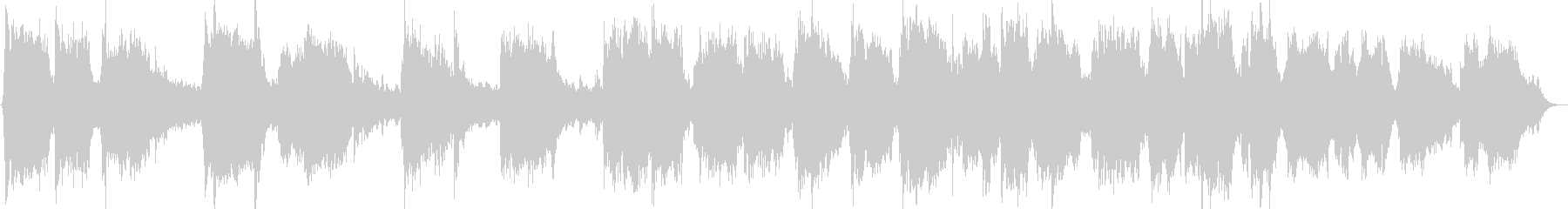 笛とピアノのヒーリング音楽の未再生の波形