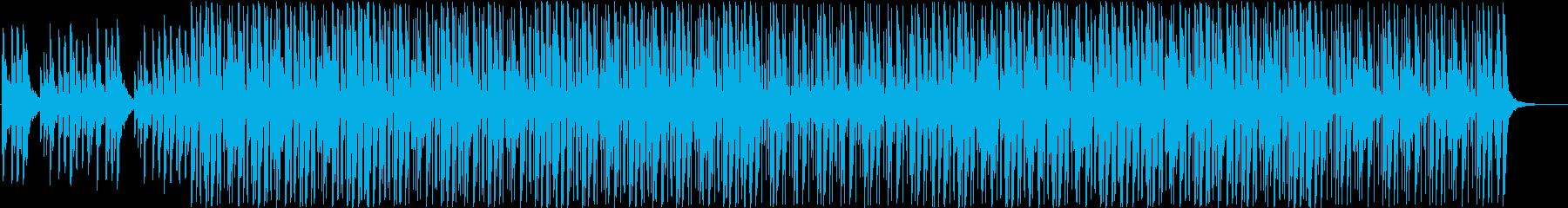 クールな電子アンビエント計器。テレ...の再生済みの波形