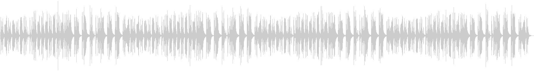 怪しい雰囲気のストリングスBGMの未再生の波形