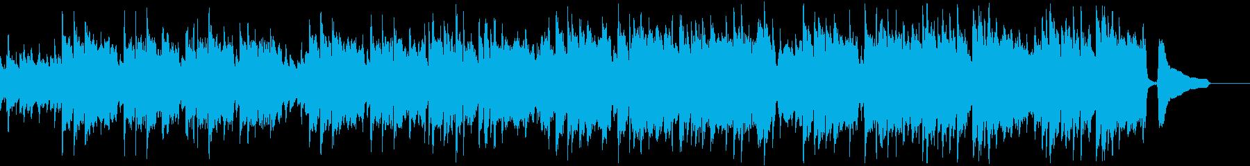 口笛とマンドリンのカントリーな曲aの再生済みの波形