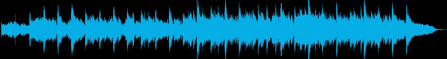 動画 感情的 楽しげ やる気 ビデ...の再生済みの波形