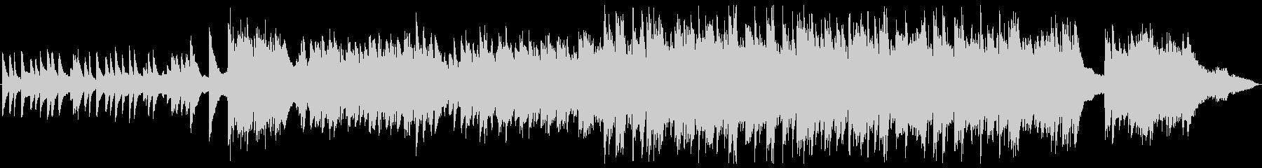 トリオ編成のノスタルジックなバラードの未再生の波形