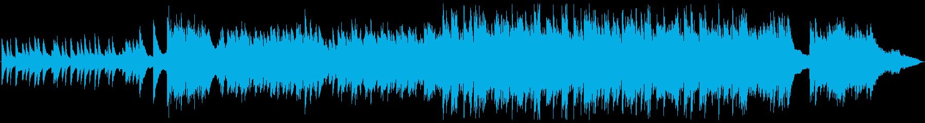 トリオ編成のノスタルジックなバラードの再生済みの波形